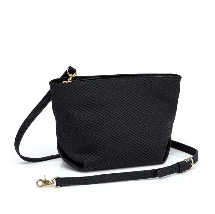 Quinn Bag - Black Pebble