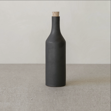 Narti Ceramic Bottle - Dark Ash