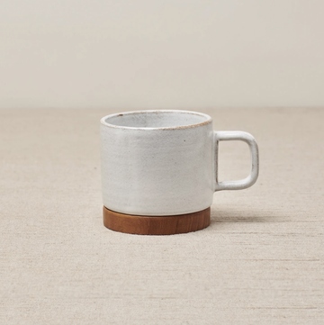 Rami Cup With Handle - Brushed White