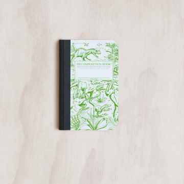Decomposition Notebook Mini - Dinosaurs