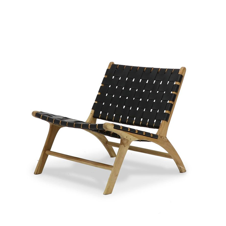 Acapulco Low Chair- Black