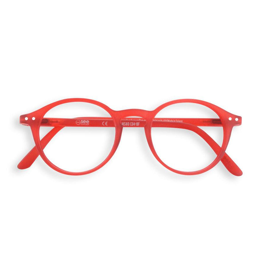 Reading glasses design D - red