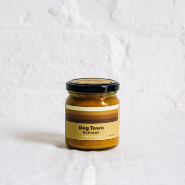 Dog Town Mustard Curry & Dill jar