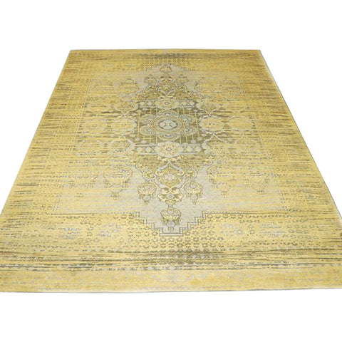 Turkish rug large - mustard