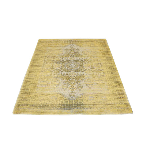 Turkish rug - mustard