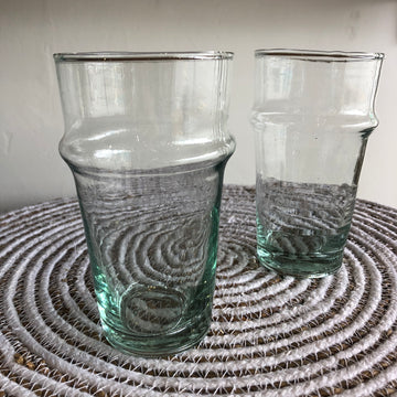Moroccan Traditional Clear Glass - Large