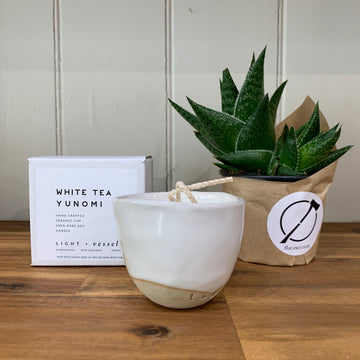 Yunomi Candle - White Tea
