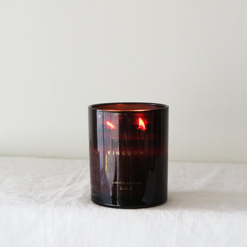Pomegranate + Peach Soy Candle