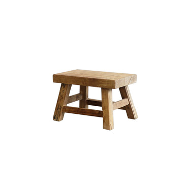 Parq Peasant stool - rectangle