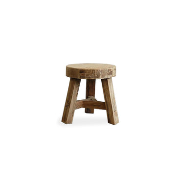 Parq Peasant Stool Round - Low
