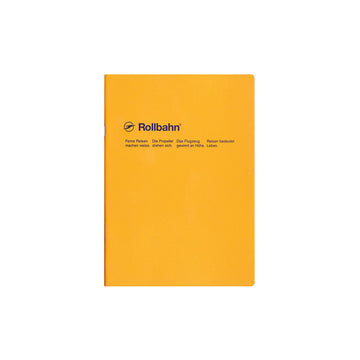 Rollbahn Slim Notebook - A5 yellow