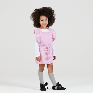 ANOUK Frilled Pinafore - Candy Pink