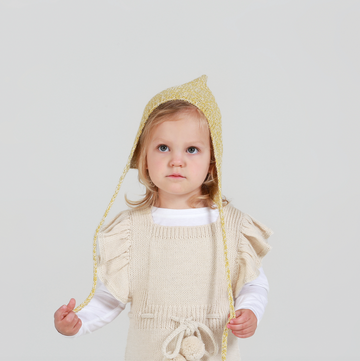 ANOUK Frilled Pinafore - Cloud