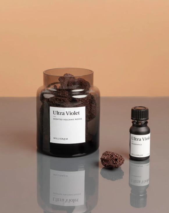 Scented Volcanic Rock Set - Ultra Violet