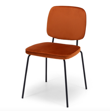Bennie Chair - Burnt Orange