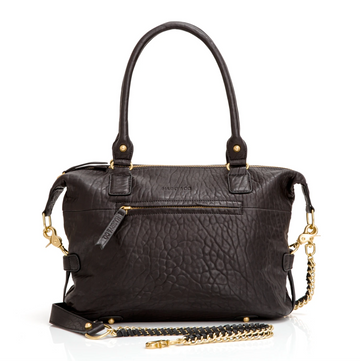 Jackie Bag Mini - Black Bubble
