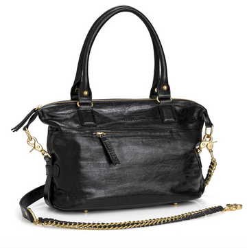 Jackie Bag Mini - Black Crackle