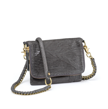 Bobi Bag - Grey Emboss