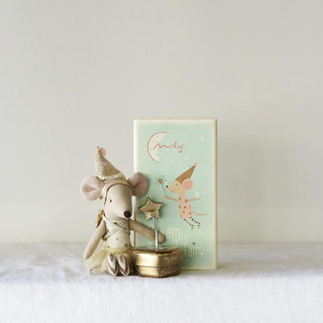 Matchbox Mouse - Tooth Fairy Girl (with heart tin)