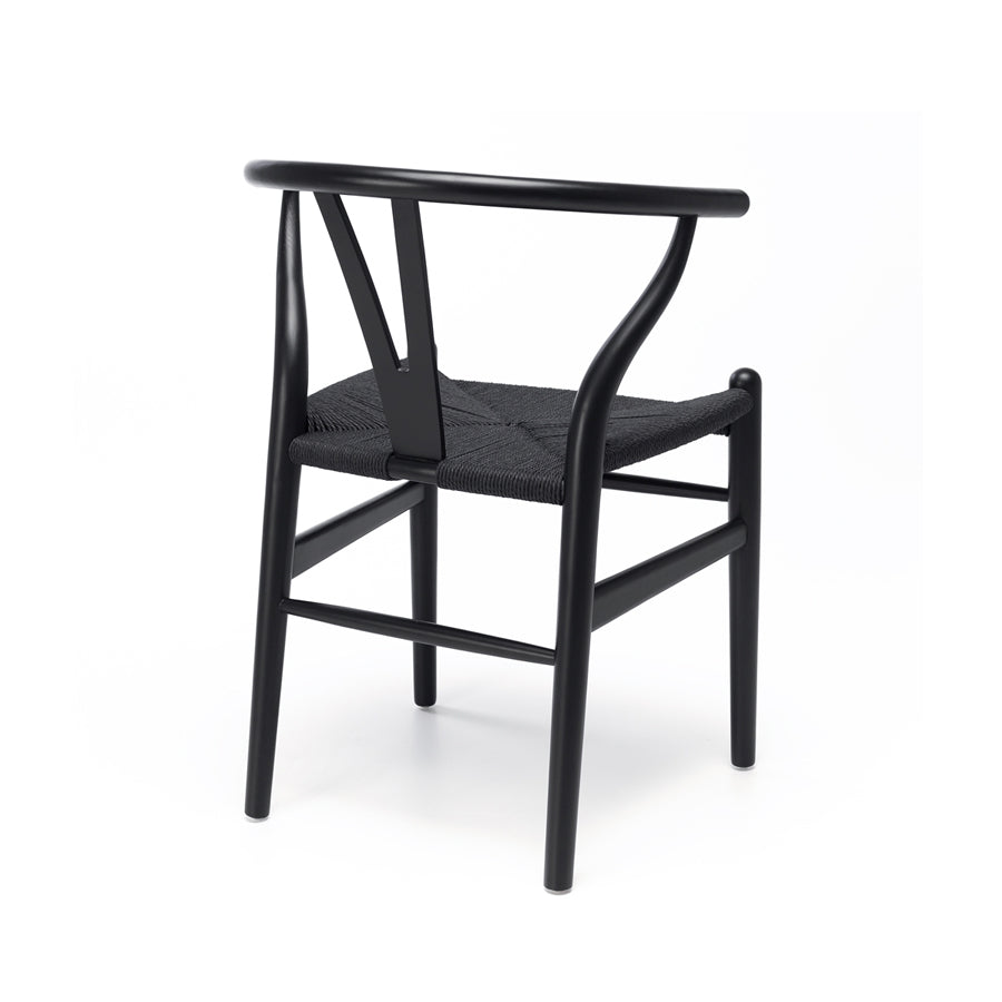 Wishbone Dining Chair - Black