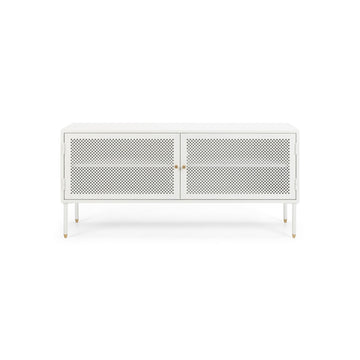 Papawai TV unit 1200W white front