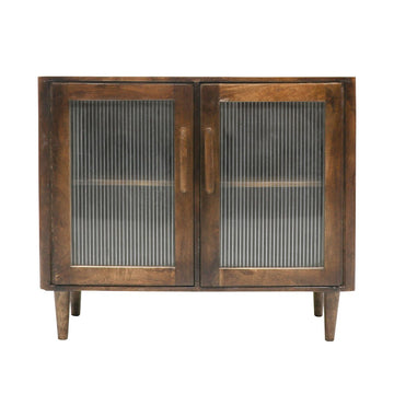 Taieri Glass Sideboard 2 door front view