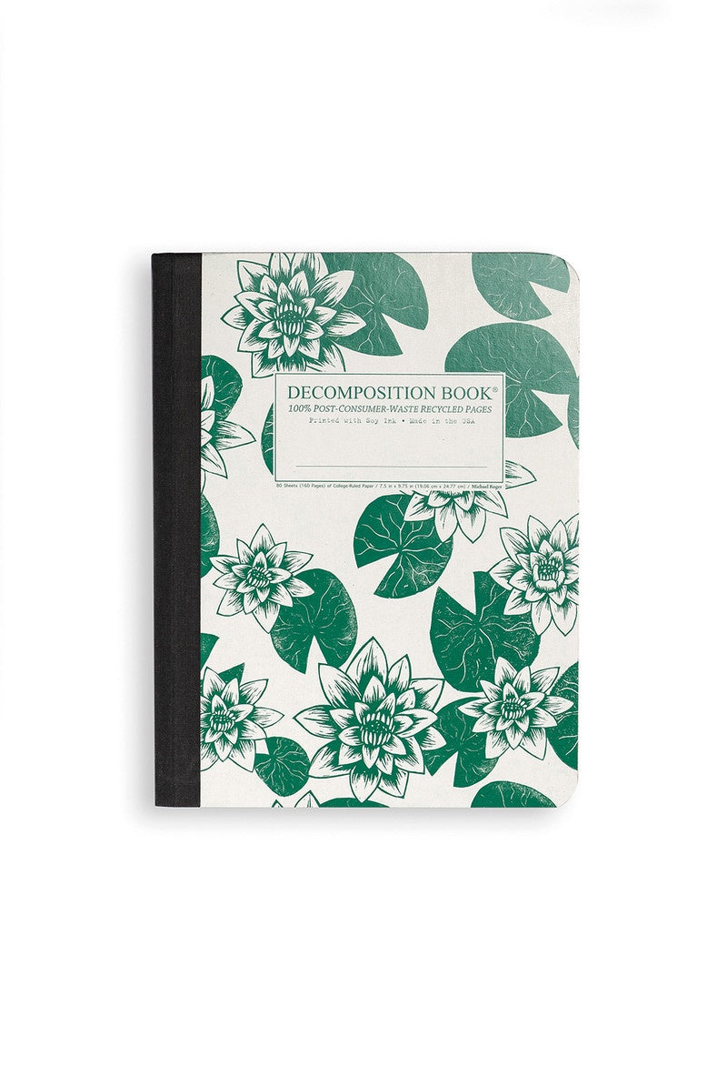 Decomposition Notebook Lily Pad