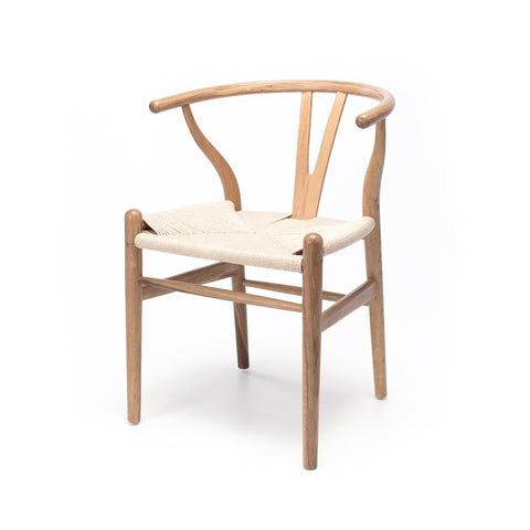 Wishbone Dining Chair - Natural