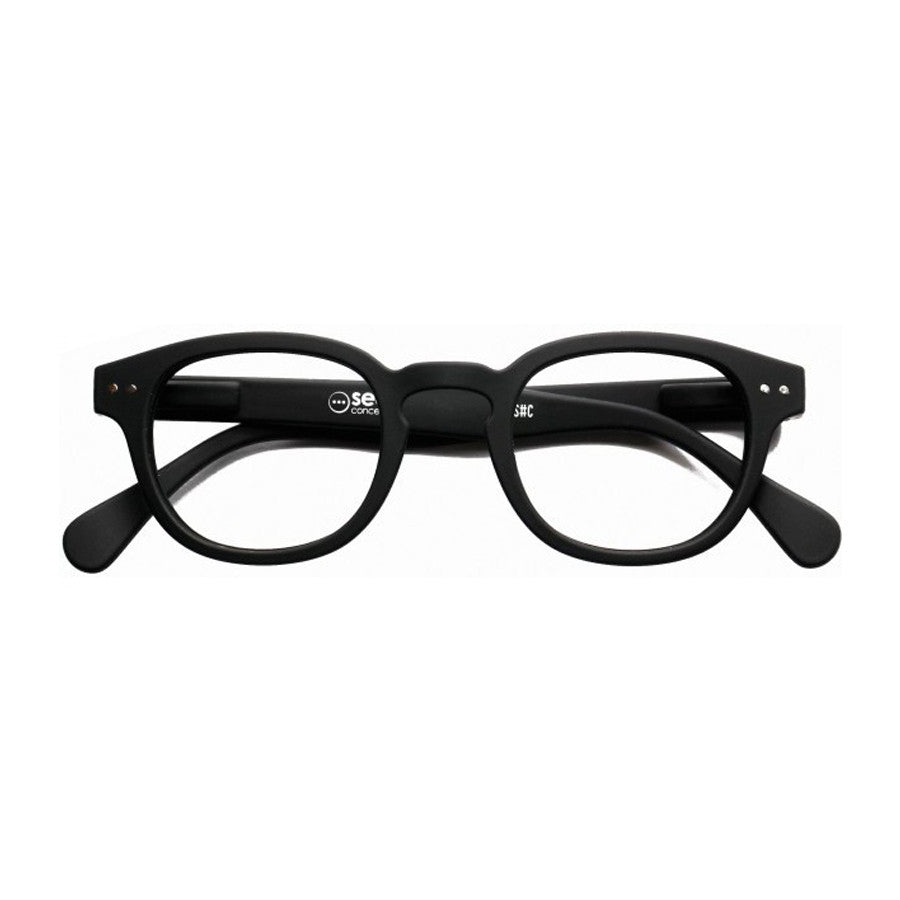 Reading Glasses Design C - Blk