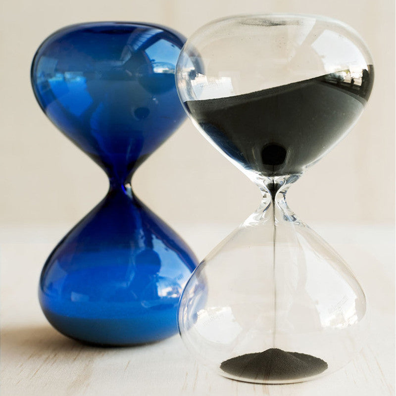 Large Hourglass - Blue