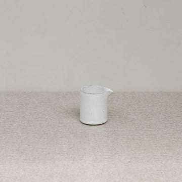 Cisco and the Sun Madu pourer ceramic jug brushed white