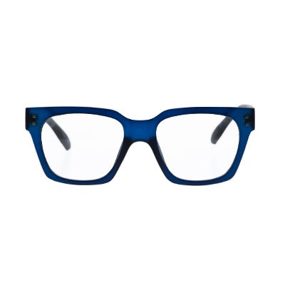 Daily Reading Glasses - 10AM Dark Blue