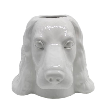 Cocker Spaniel Dog Vase