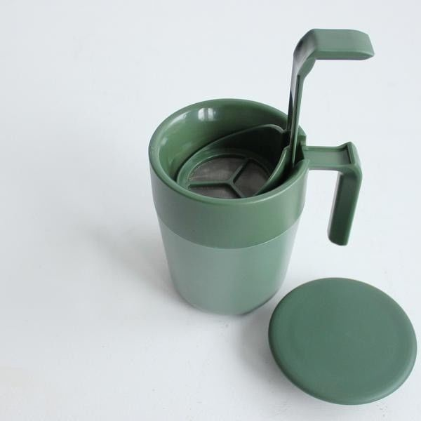 Cafe press mug - green