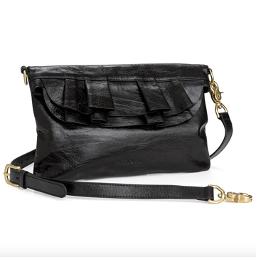 Claude Bag - Black Crackle