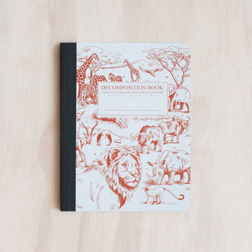 Decomposition Notebook- African Safari