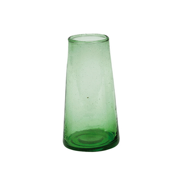 Moroccan Champagne Glass - Green
