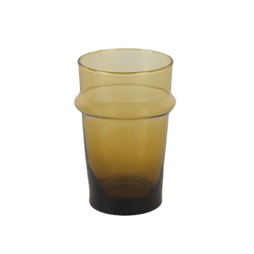 Moroccan Traditional Glass- Mustard