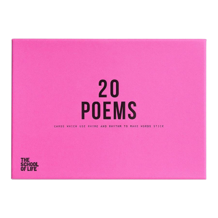 The School of Life - 20 poems