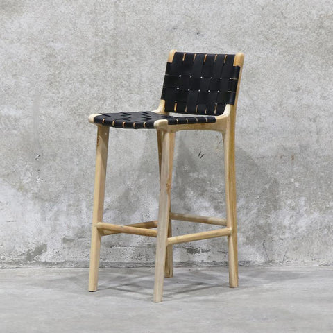 Acapulco bar stool- Black