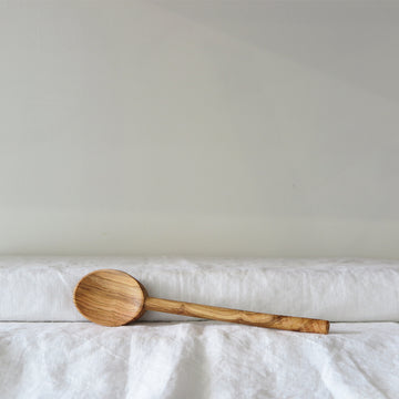 Olive Wood Oval Spoon- Two Sizes
