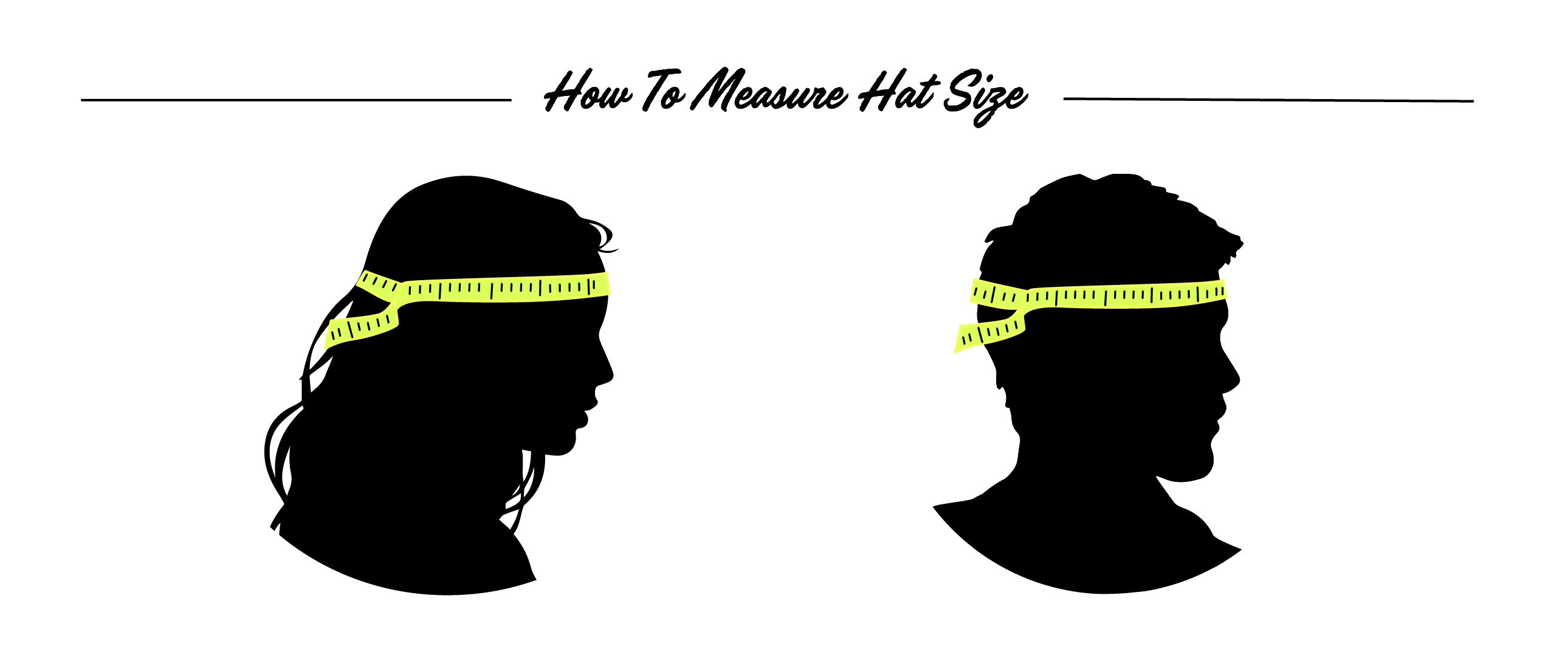 How to measure hat size