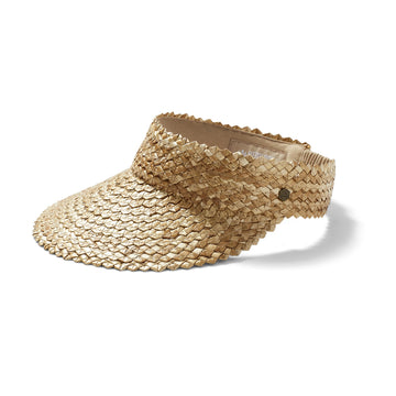 Capri Visor in Honeycomb
