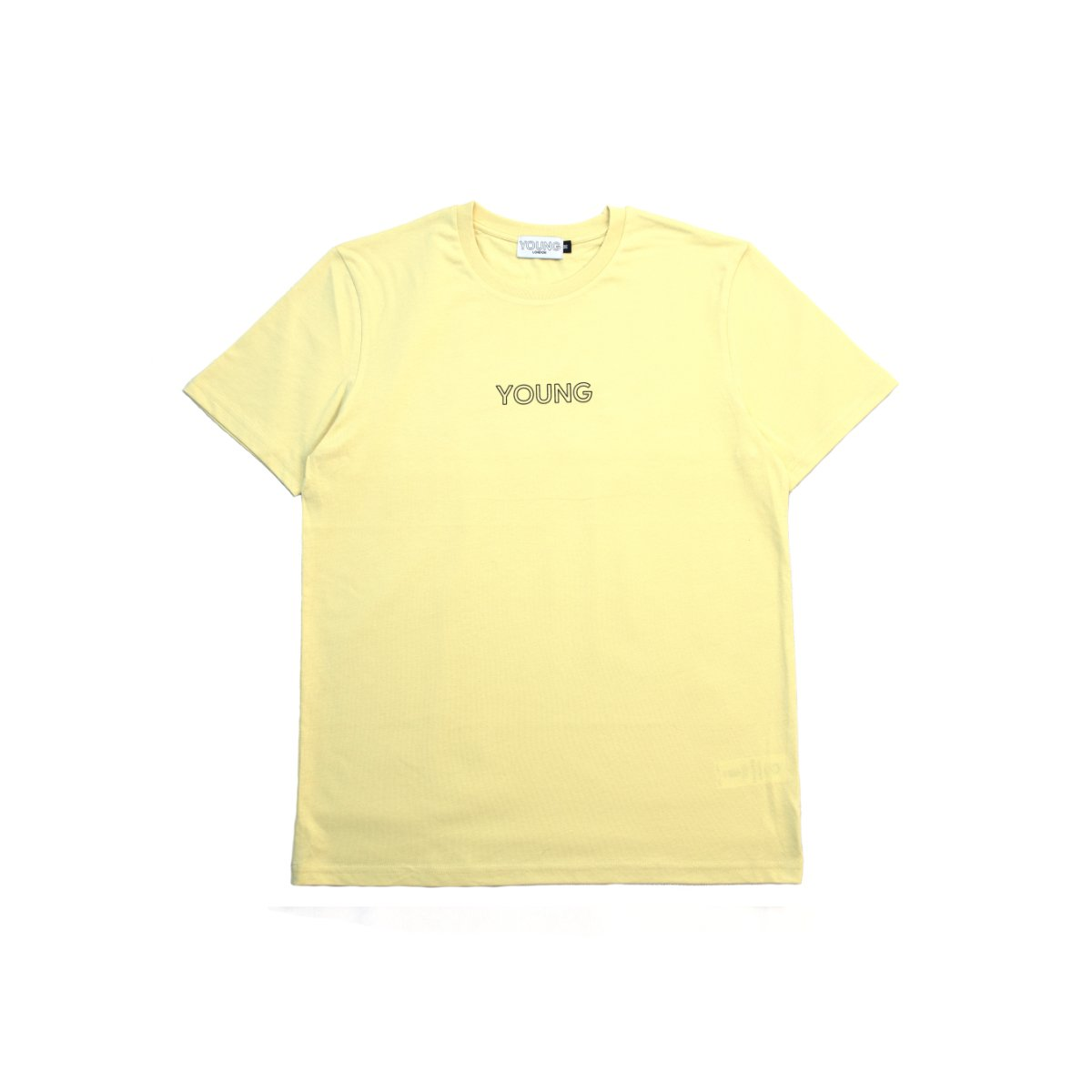 Young Hollow Tee - Misty Yellow