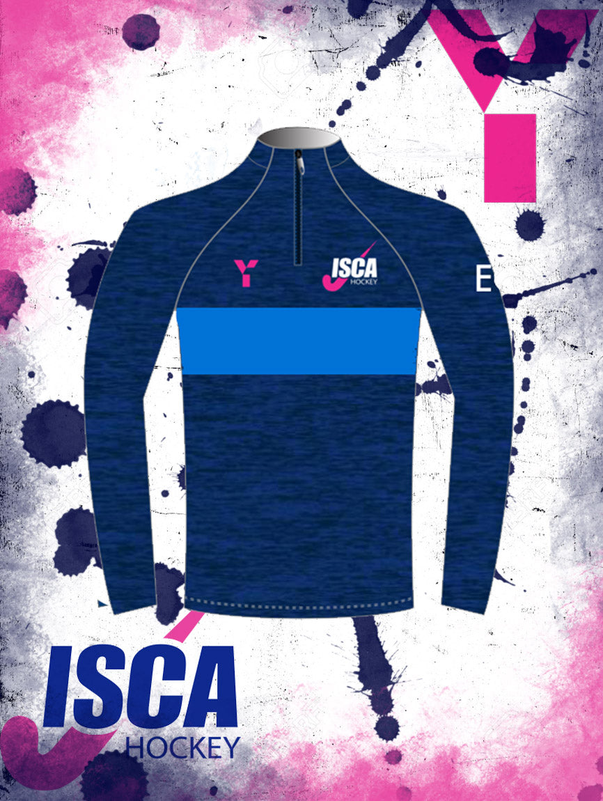 ISCA Junior Quarter Zip