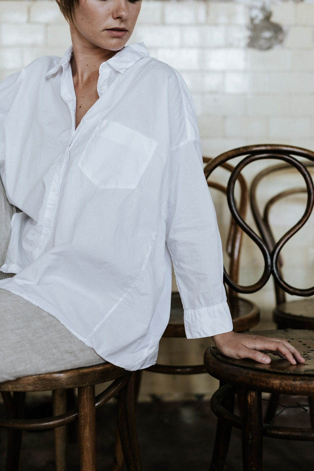 Indra shirt - Fine Cotton Poplin