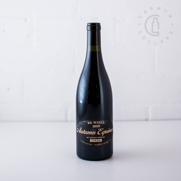 BK Wines Autumn Equinox Syrah 2018 750ml