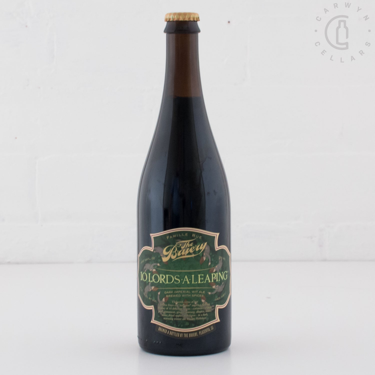 The Bruery 10 Lords A-Leaping