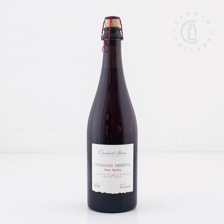 Crooked Stave Colorado Reserva Sour Cherry 2016