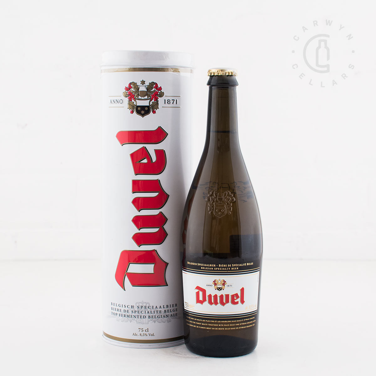 Duvel Belgian Golden Ale 750ml (in tube)